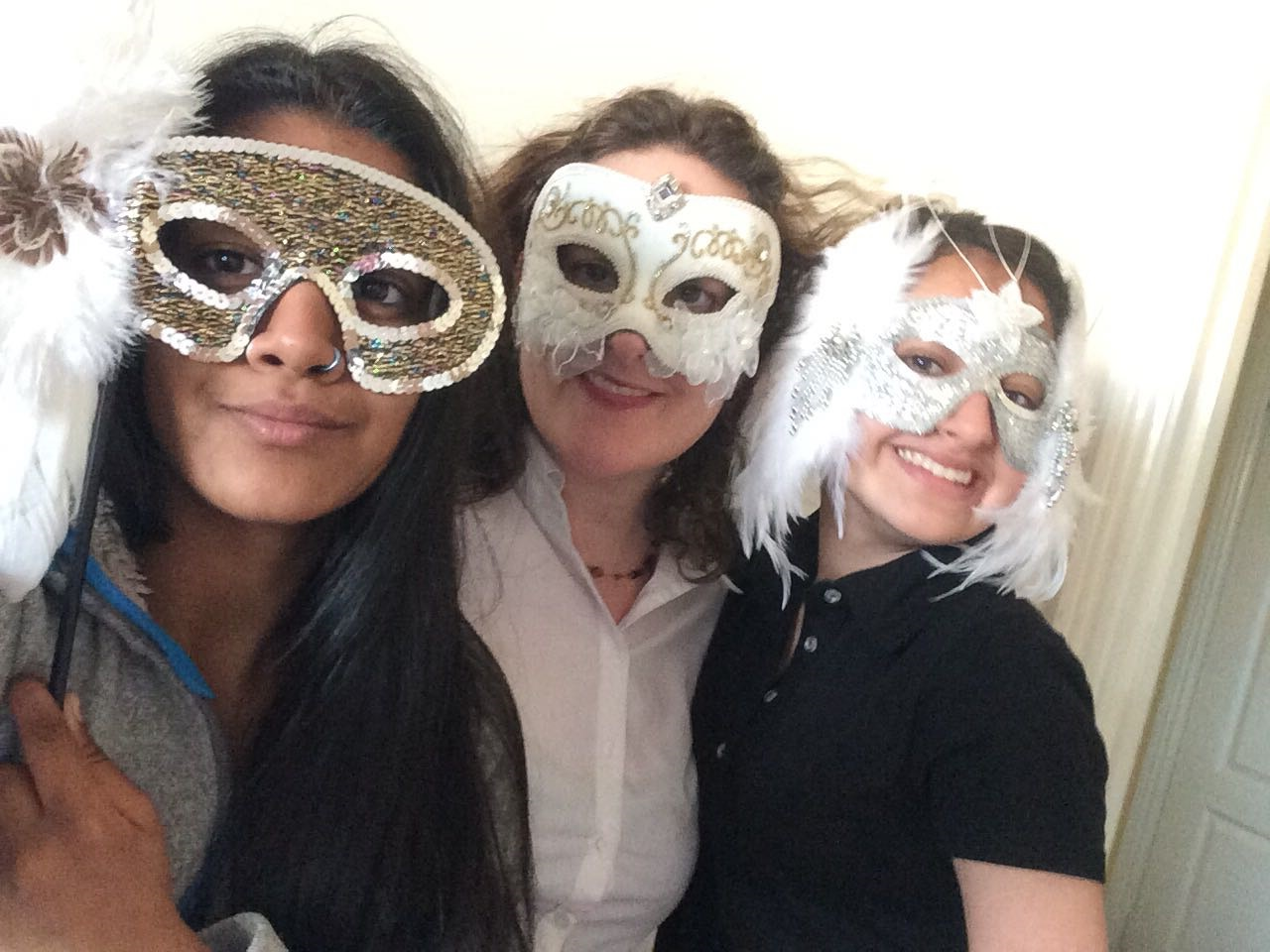 Girls in Masks